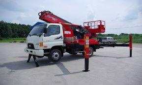 Автовышка Hyundai-28 метров